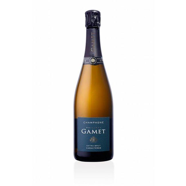 Champagne - Maison Gamet - Extra Brut - Caractères