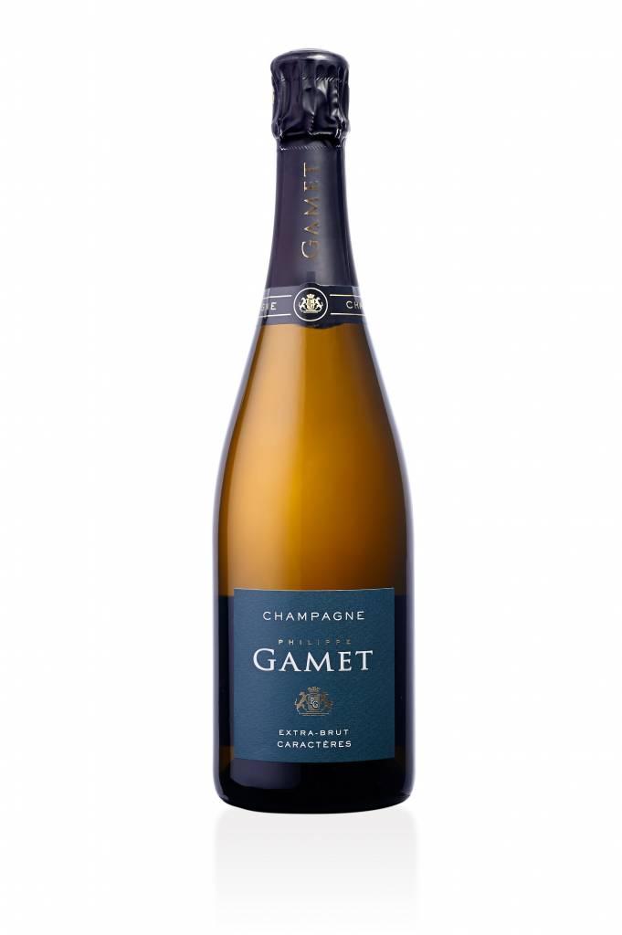Champagne - Maison Gamet - Extra Brut - Caractères-1