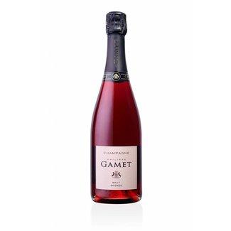 Champagne - Maison Gamet - Brut rosé de saignée