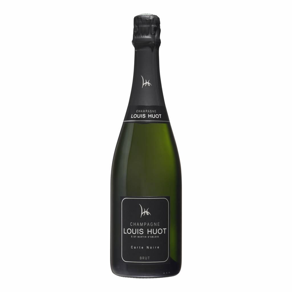 Champagne Louis Huot - Brut Carte Noire-1
