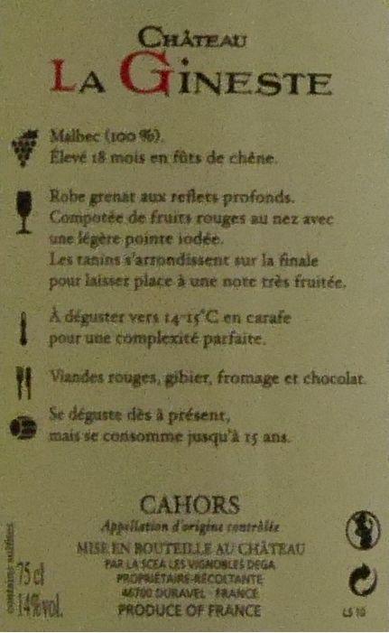 2012 - Secrets... - Château La Gineste-4