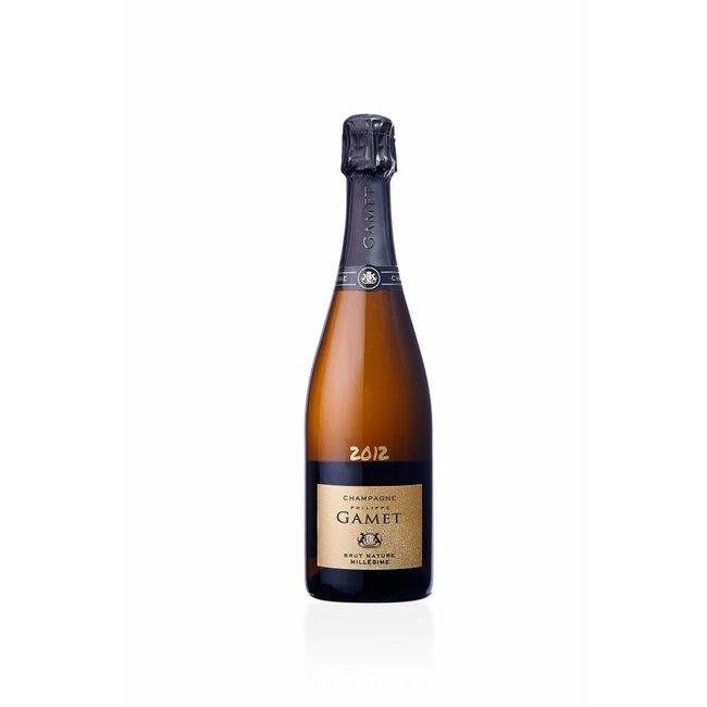 Champagne - Maison Gamet - Brut Nature - Millésimé 2012