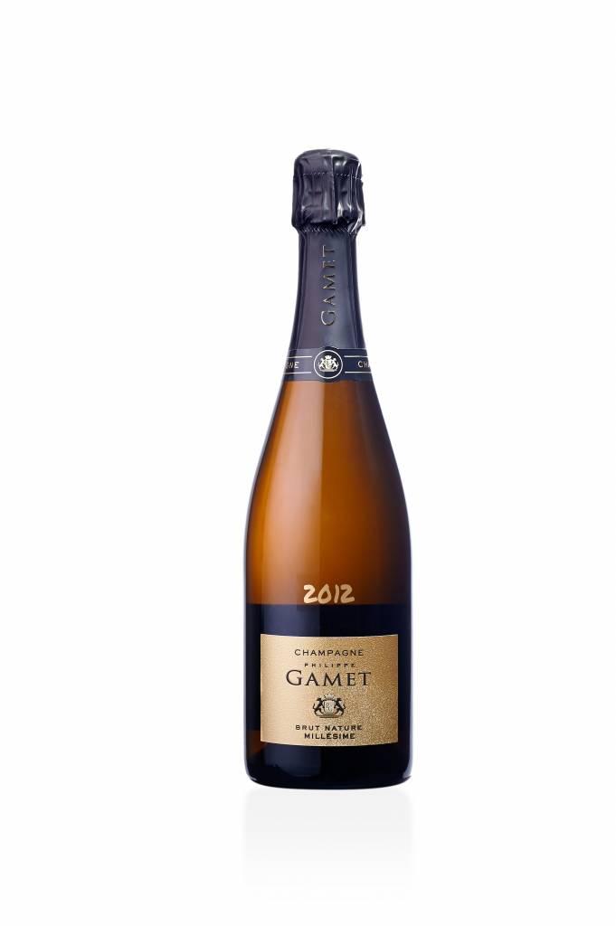 Champagne - Maison Gamet - Brut Nature - Millésimé 2012-1