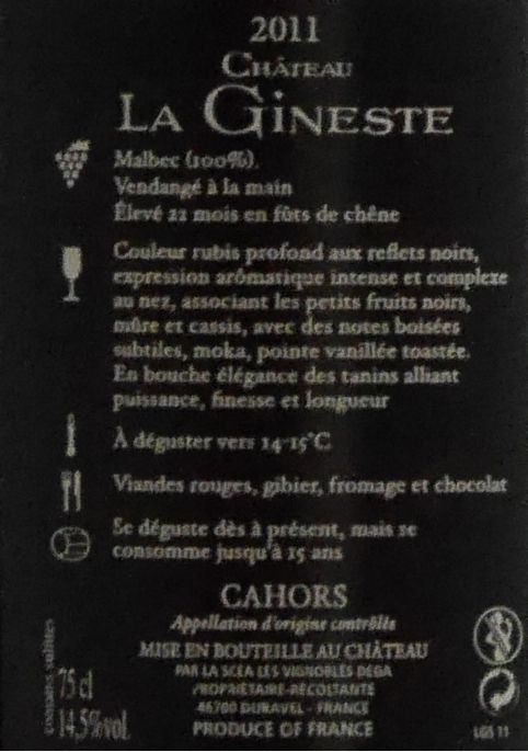 Château La Gineste - Grand Secrets... - 2011-4