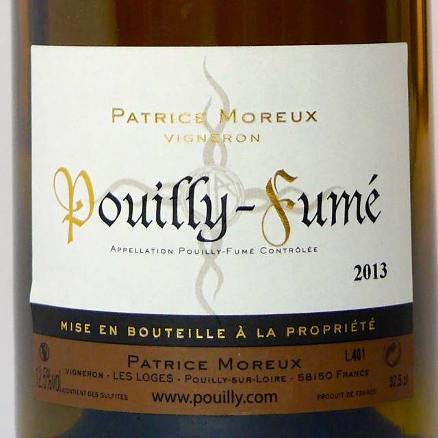 Patrice Moreux - Pouilly-Fumé - 2015-2