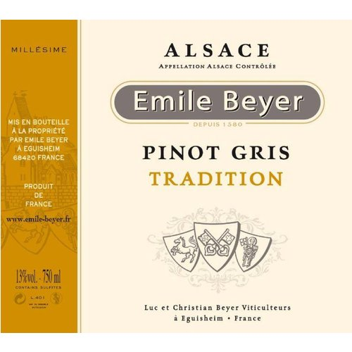 Domaine Emile Beyer - Pinot Gris Tradition - 2016
