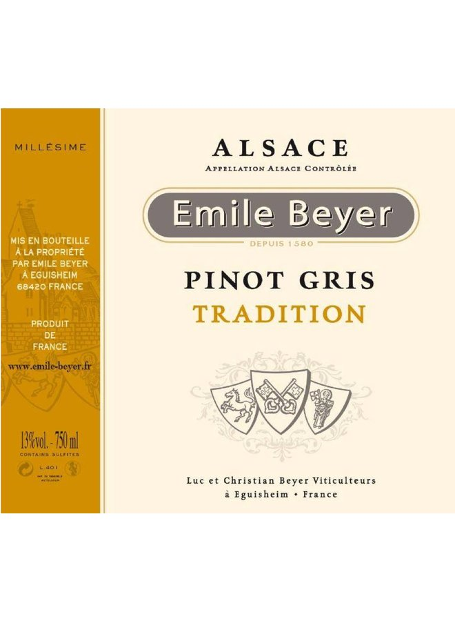 Domaine Emile Beyer - Pinot Gris Tradition