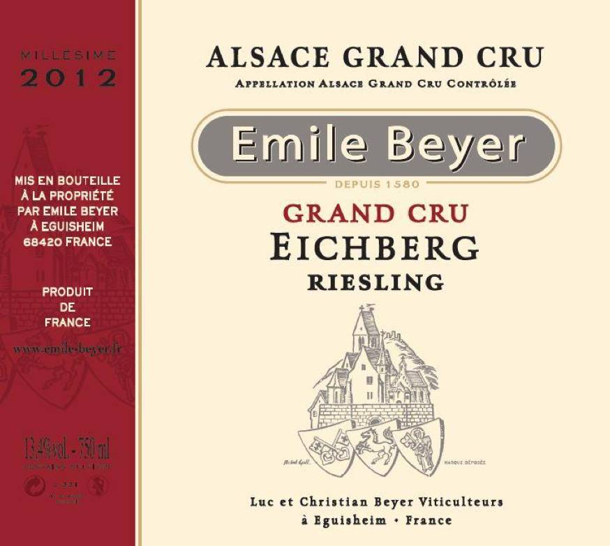 Domaine Emile Beyer - Riesling Grand Cru Pfersigberg-2