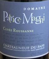 Domaine Patrice Magni - Châteauneuf-du-Pape Cuvée Roussanne-2