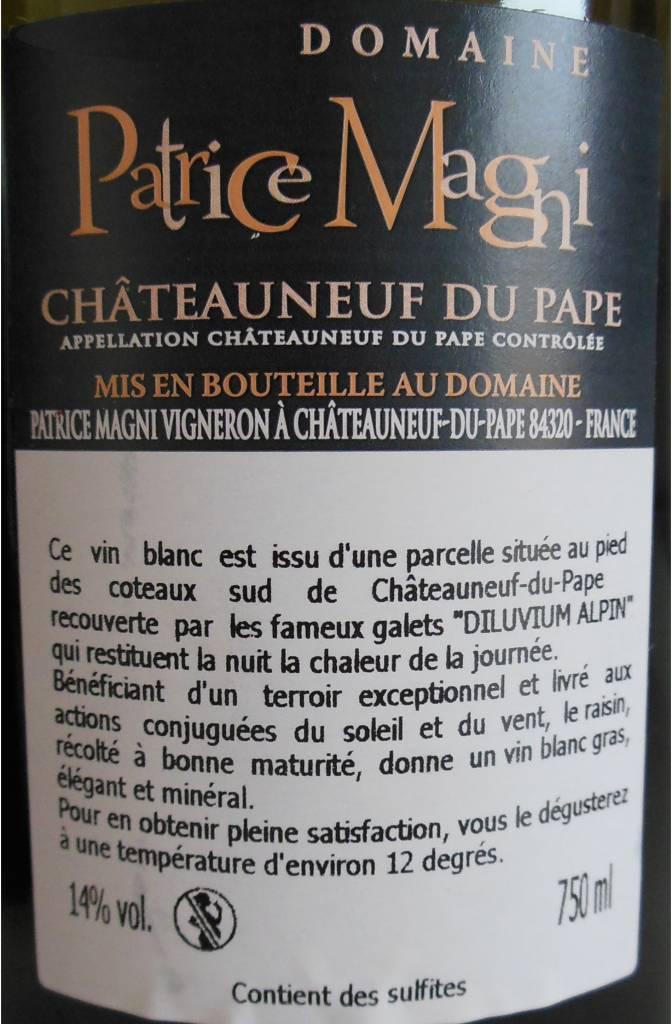 Domaine Patrice Magni - Châteauneuf-du-Pape Blanc-3