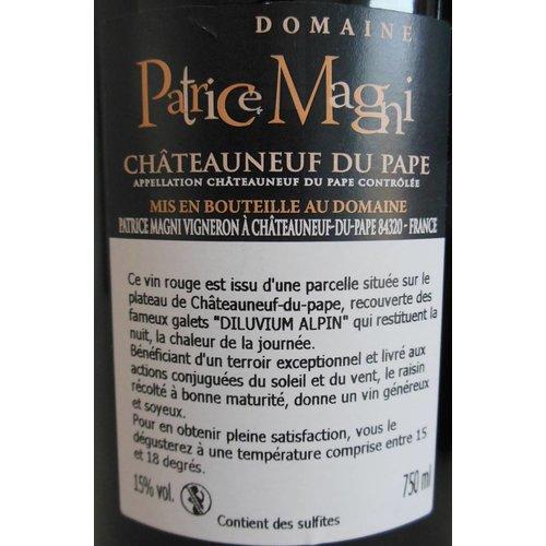 Domaine Patrice Magni - Châteauneuf-du-Pape Rouge - 2015