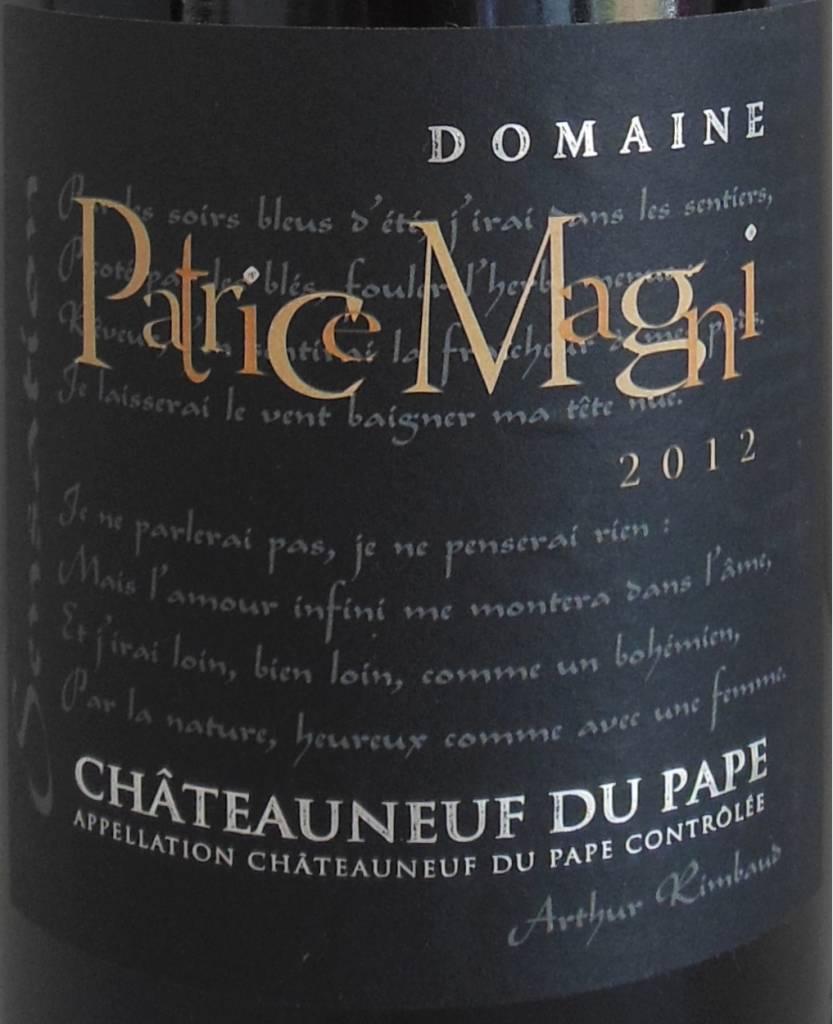 Domaine Patrice Magni - Châteauneuf-du-Pape Rouge Cuvée Pressoir-2