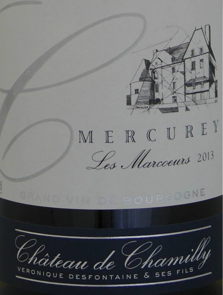 """Château de Chamilly - Mercurey """"Les Marcoeurs"""" - 2014-3"""