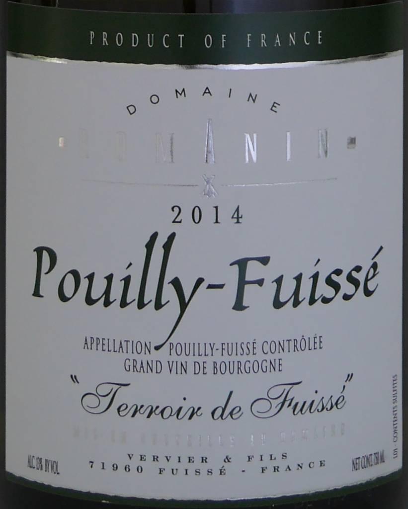 """DomaineRomanin - Pouilly-Fuissé """"Terroir de Fuissé""""-3"""