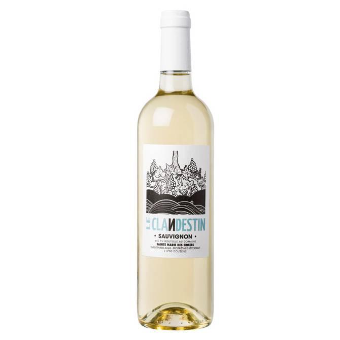 Domaine Sainte Marie des Crozes - Le Clandestin Sauvignon blanc - 2017-1