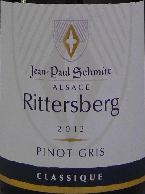 Domaine Jean-Paul Schmitt - Pinot Gris Rittersberg Classique