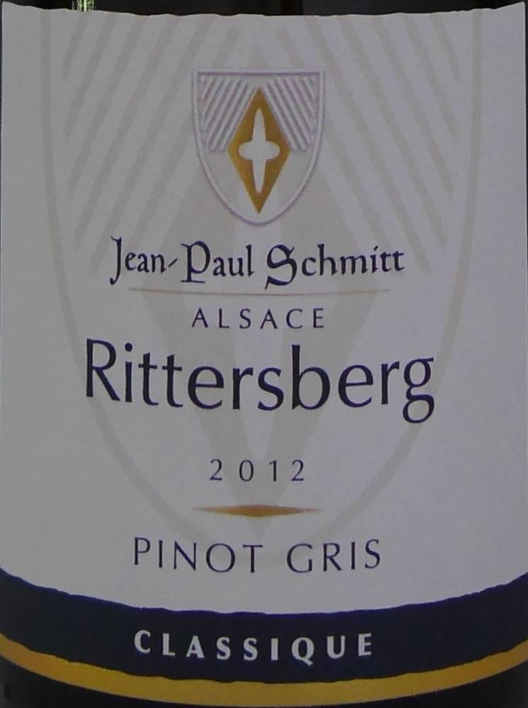 Domaine Jean-Paul Schmitt - Pinot Gris Rittersberg Classique - 2013-3