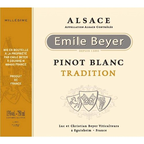 Domaine Emile Beyer - Pinot Blanc Tradition - 2016