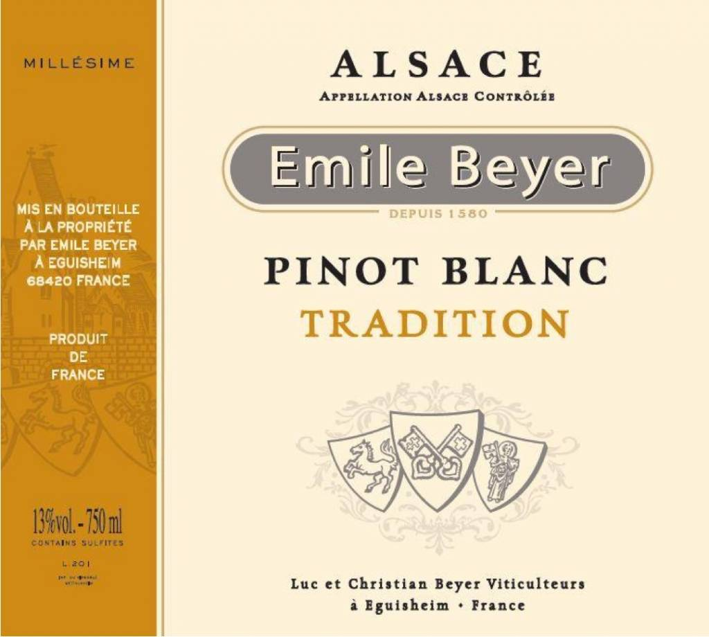 Domaine Emile Beyer - Pinot Blanc Tradition-2