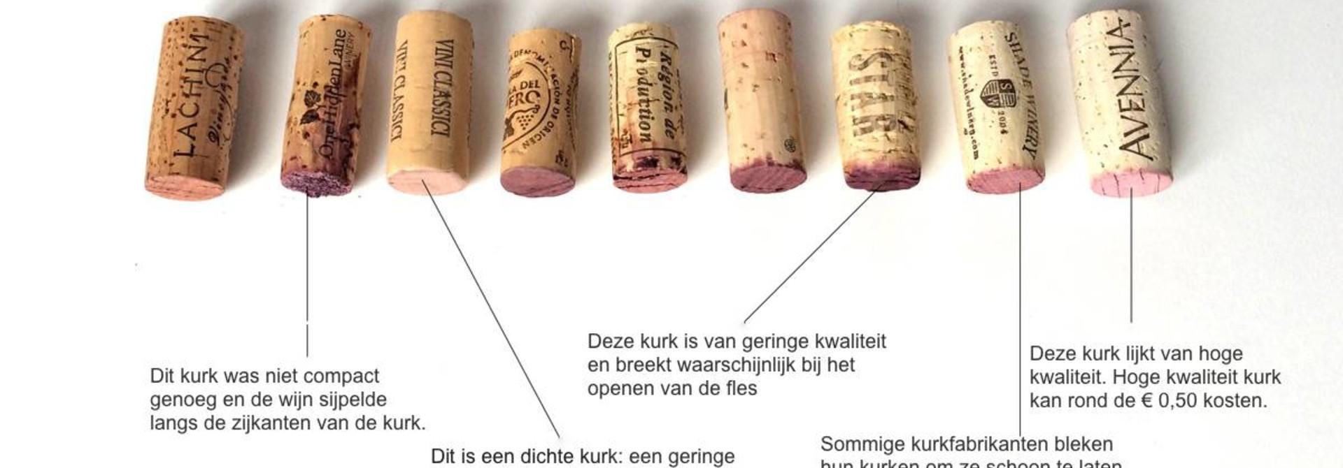 Is er een optimale sluiting voor de wijnfles?