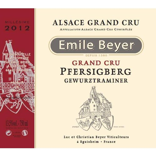 Domaine Emile Beyer - Gewurztraminer Grand Cru Pfersigberg