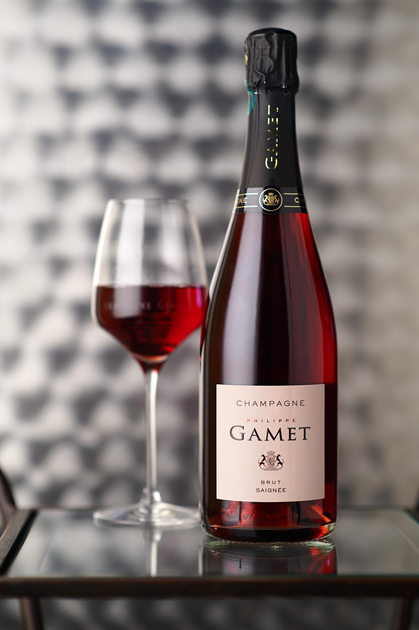 Champagne Philippe Gamet- Brut rosé de saignée