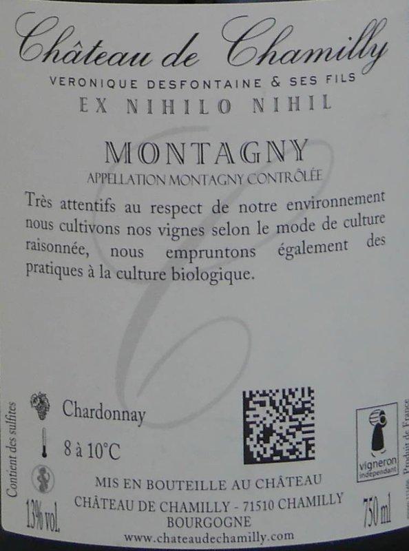 """Château de Chamilly - Montagny """"Les Reculerons"""""""