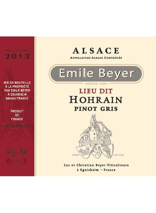 "Domaine Emile Beyer - Pinot Gris ""Lieu-dit Hohrain"""