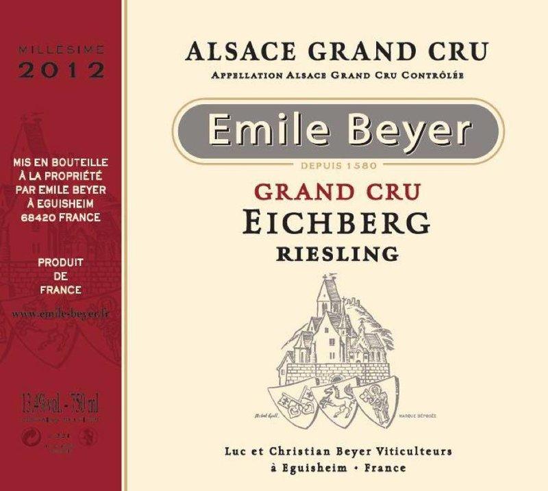 Domaine Emile Beyer - Riesling Grand Cru Eichberg