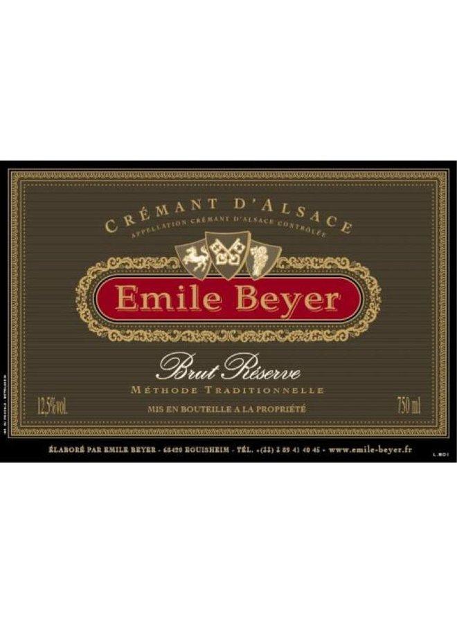 Crémant d'Alsace Brut Réserve - Domaine Emile Beyer