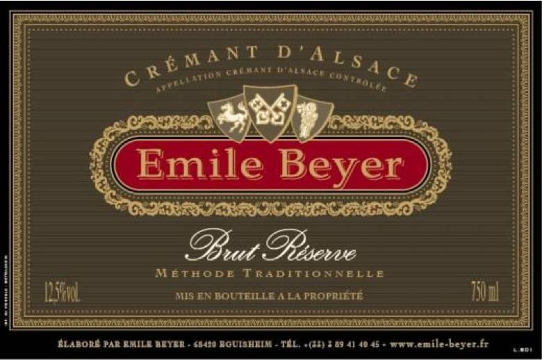 Crémant d'Alsace Brut Réserve - Domaine Emile Beyer-2
