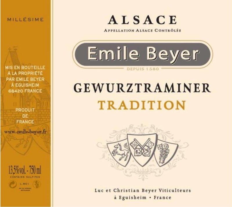 Domaine Emile Beyer - Gewurztraminer Tradition