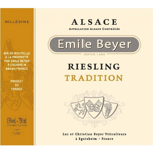 Domaine Emile Beyer - Riesling Tradition - 2013