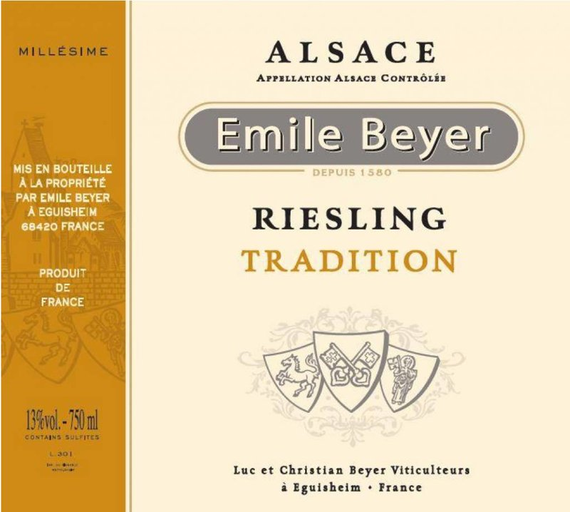Domaine Emile Beyer - Riesling Tradition