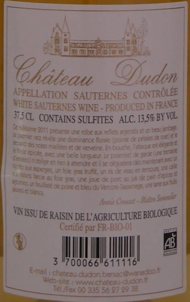 Château Dudon - Saunternes-4