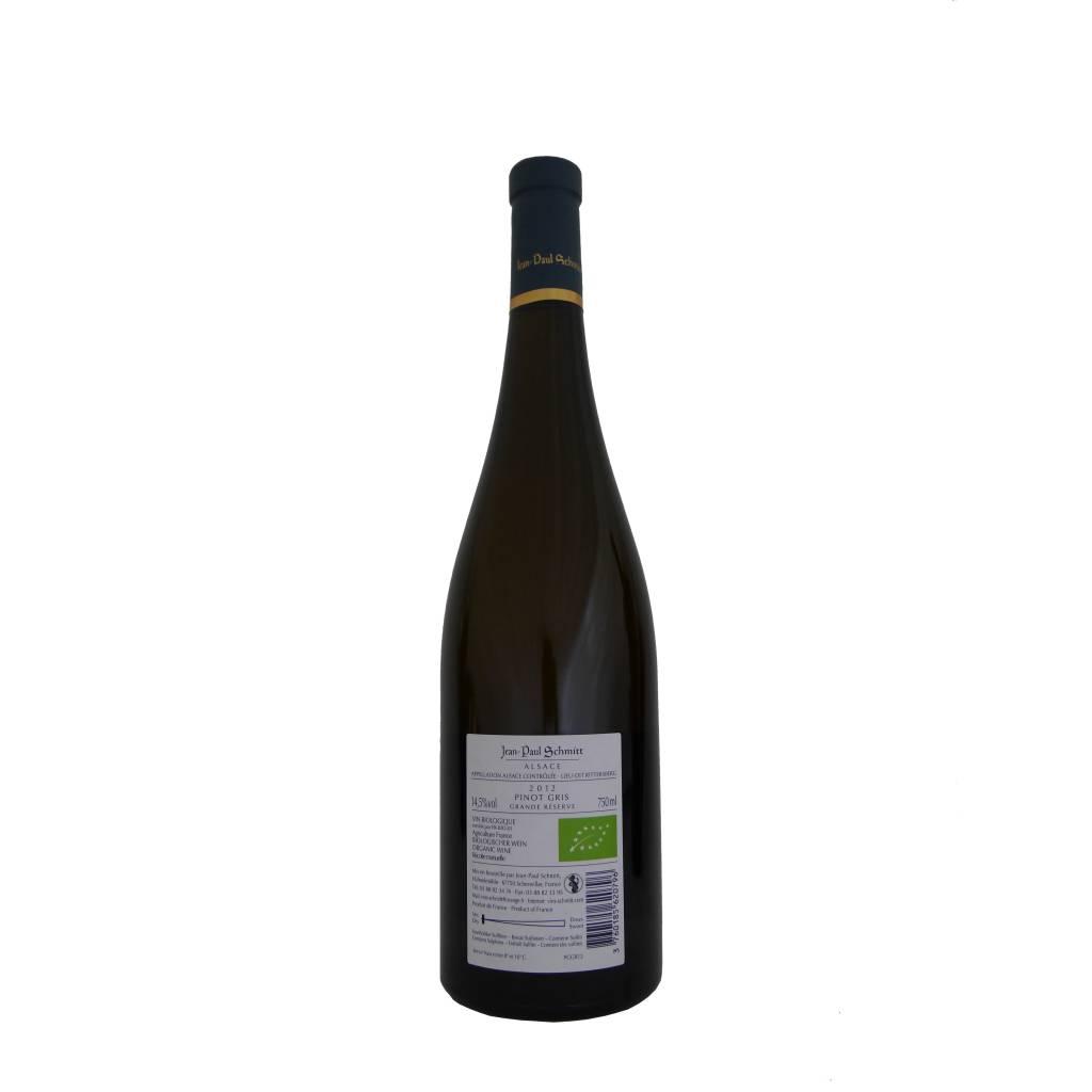 Domaine Jean-Paul Schmitt - Pinot Gris Rittersberg Grande Réserve - 2012-2
