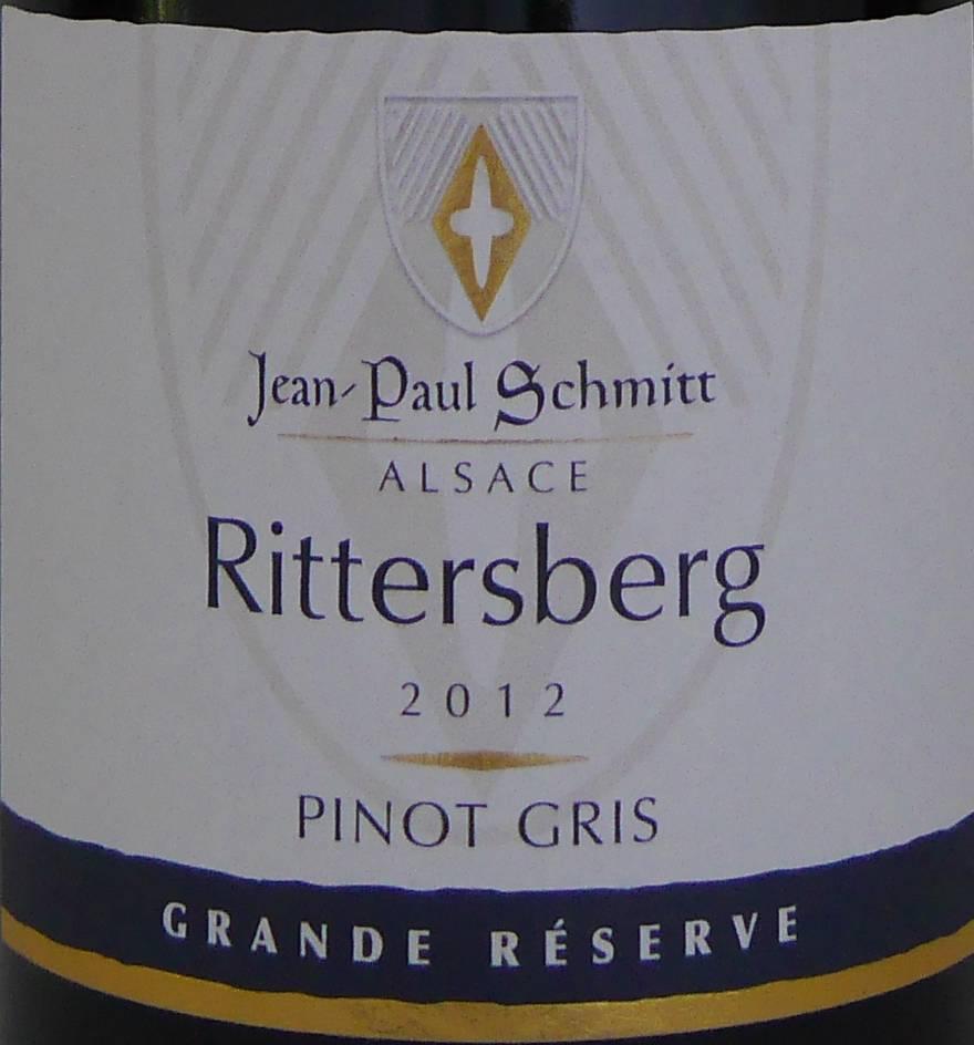 Domaine Jean-Paul Schmitt - Pinot Gris Rittersberg Grande Réserve - 2012-3