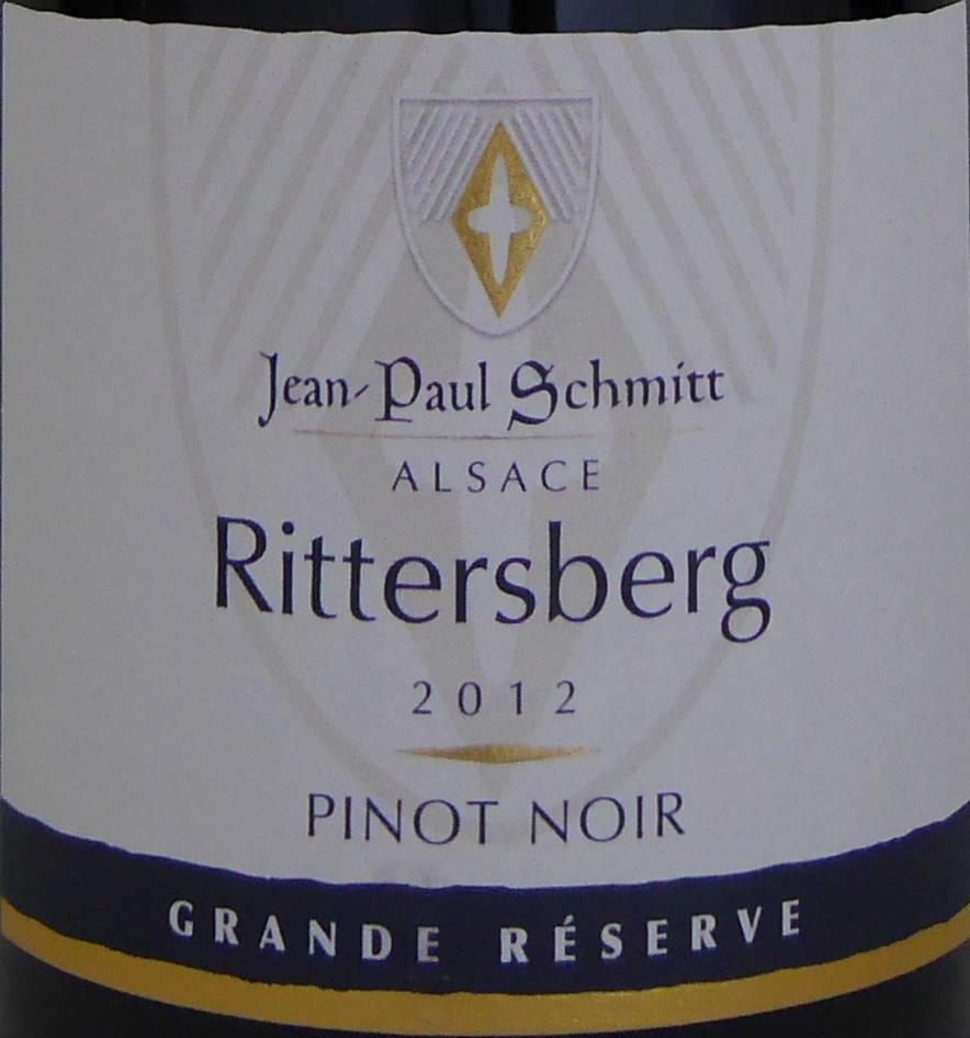 Domaine Jean-Paul Schmitt - Pinot Noir Rittersberg Grande Réserve - 2012-3