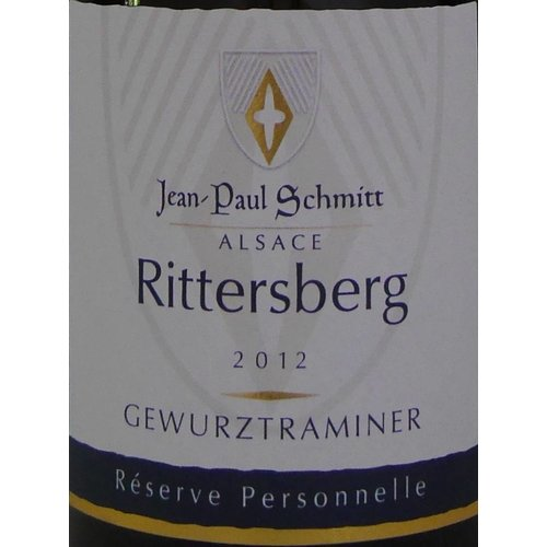 Domaine Jean-Paul Schmitt - Gewurztraminer Rittersberg Réserve Personnelle - 2012
