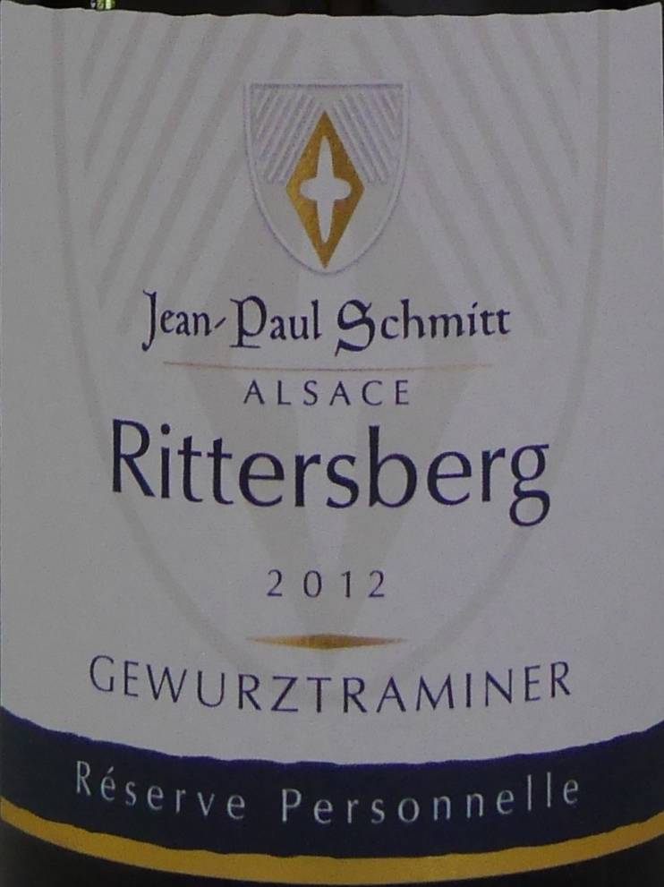 Domaine Jean-Paul Schmitt - Gewurztraminer Rittersberg Réserve Personnelle-3