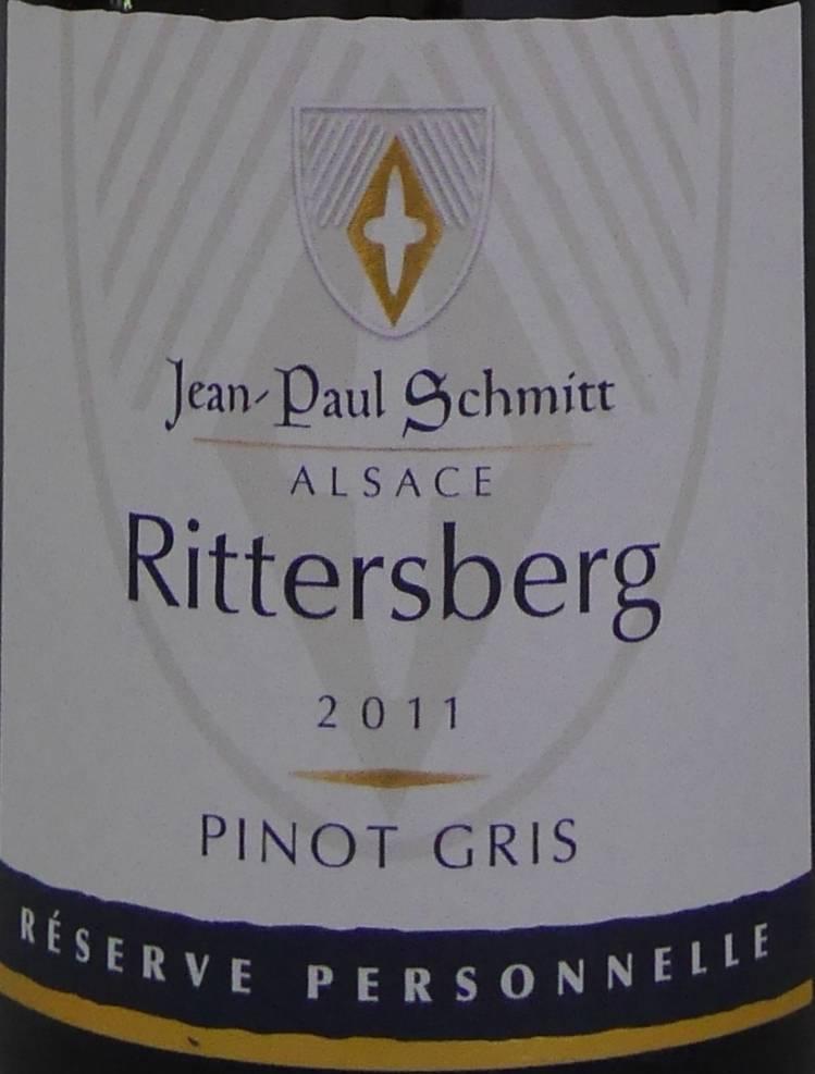 Domaine Jean-Paul Schmitt - Pinot Gris Rittersberg Réserve Personnelle - 2011-3
