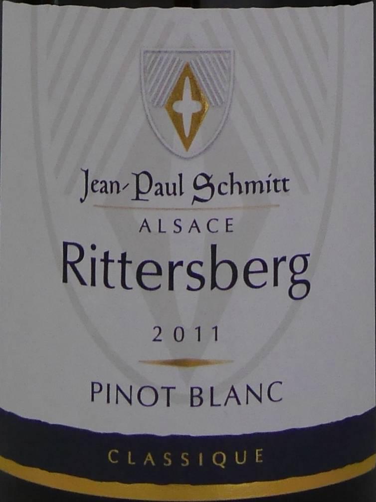 Domaine Jean-Paul Schmitt - Pinot Blanc Rittersberg Classique - 2011-3