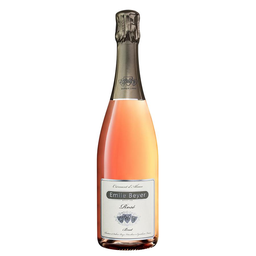 Crémant d'Alsace Brut Réserve rosé - Domaine Emile Beyer-1