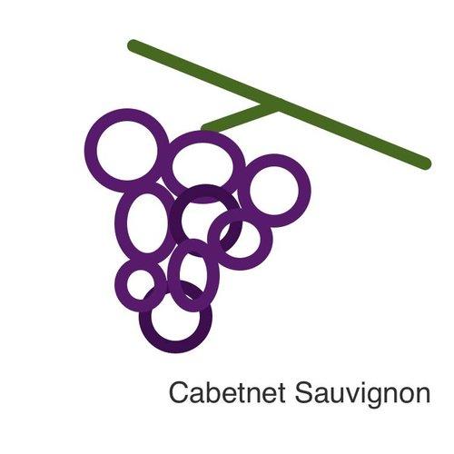 Selectie van onze wijnen met de cabernet sauvignon druif