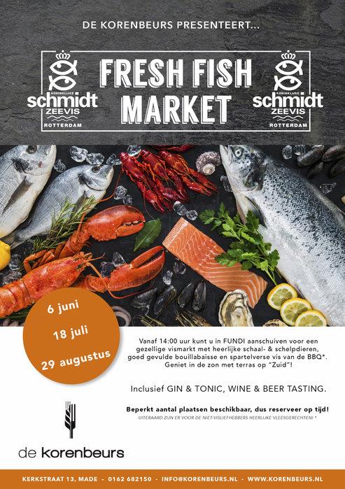 Fresh Fishmarket  18 juli  2021 Hotel de Korenbeurs - Made