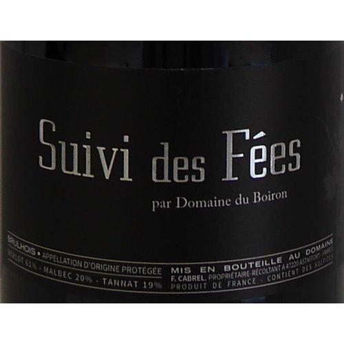 Domaine du Boiron - Suivi des Fées - 2014