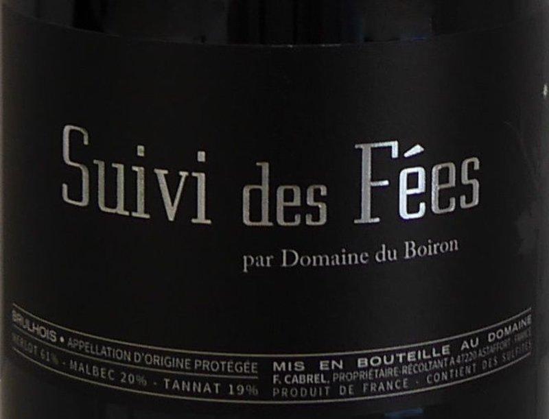 Domaine du Boiron - Suivi des Fées