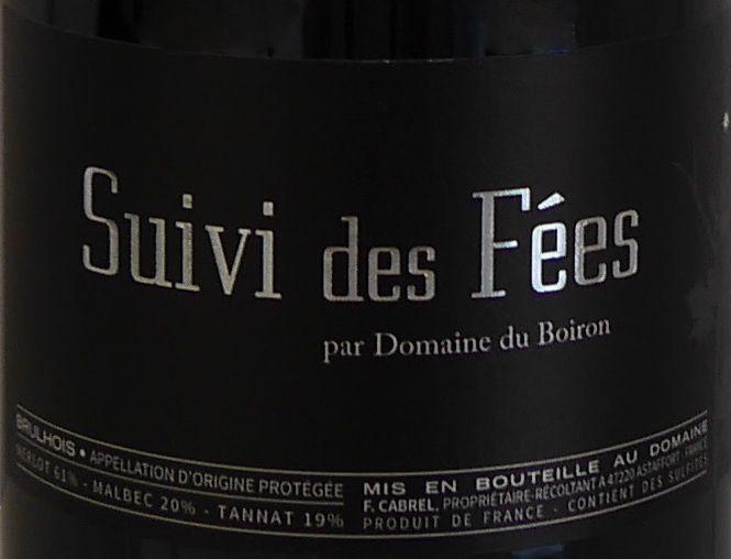 Domaine du Boiron - Suivi des Fées - 2014-2