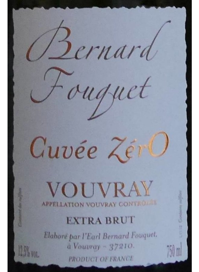 Bernard Fouquet - Extra brut Cuvée Zéro