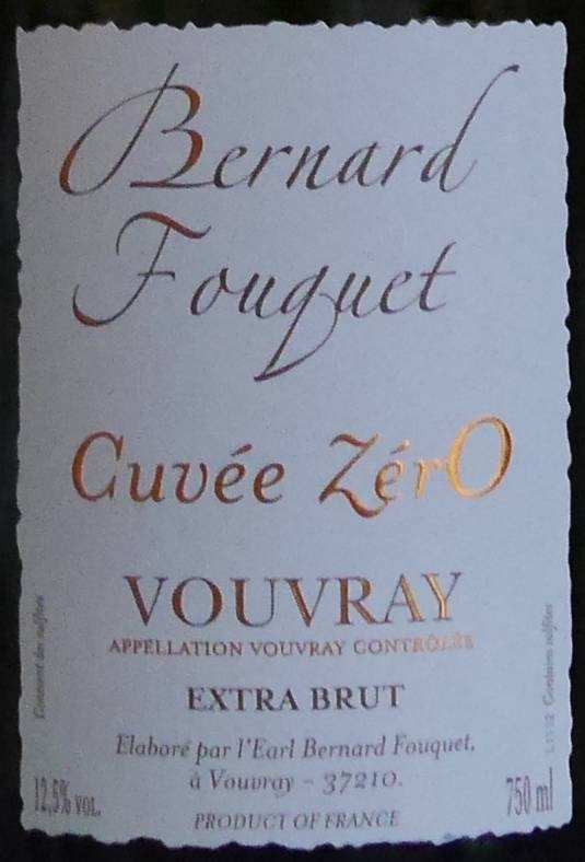 Bernard Fouquet - Extra brut Cuvée Zéro-2